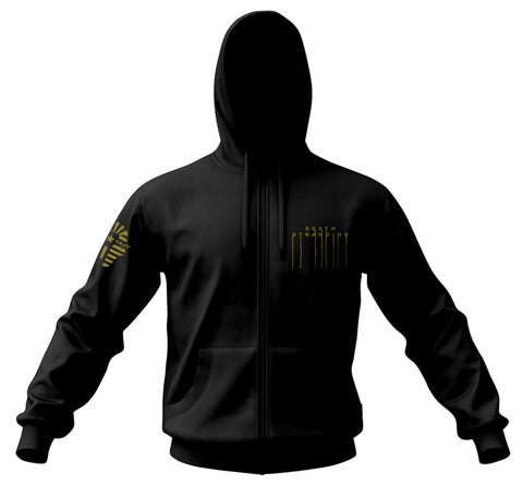 DEATH STRANDING Gold Multi-limb Zip Hoodie