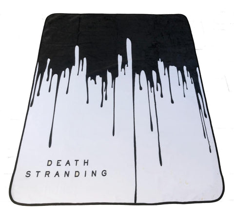 Death Stranding logo Luxury Blanket