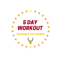 5 DAY WORKOUT Plan for Women
