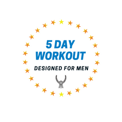 5 DAY WORKOUT Plan for Men