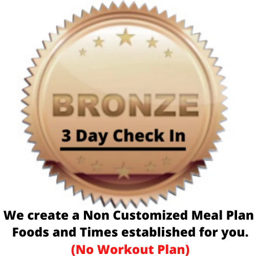 Pre Made Plan Bronze
