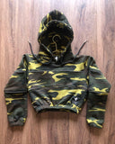 3M Camo Cropped Hoody
