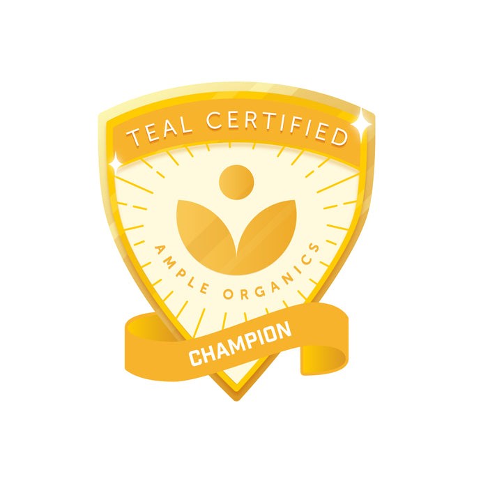Ample Organics Champion Certification