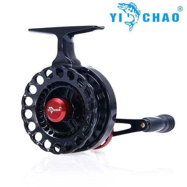 YiChao New NND-H65 Gear ratio 3.6:1 Semimetal Raft Fishing Left/Right Hand Fly Fishing Reel Ice Fishing Raft Reel Fly Reel