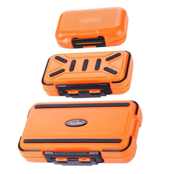 PVC Waterproof Fishing Box Storage Case Double Side Sea Boat Distance Carp Fly Fishing Tackle Accessories Gear