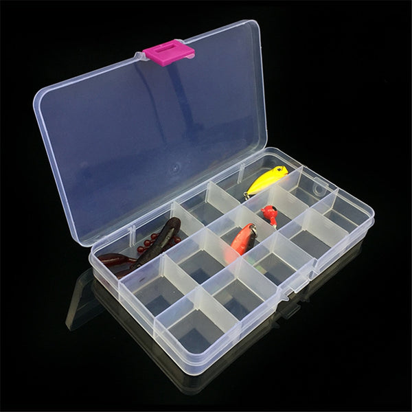 New Organizer Fishing Lures Box Case Tackle Bait Storage Fisher Gear Accessories Bulk Fly Fishing Tackle Boxes Isca Artificial
