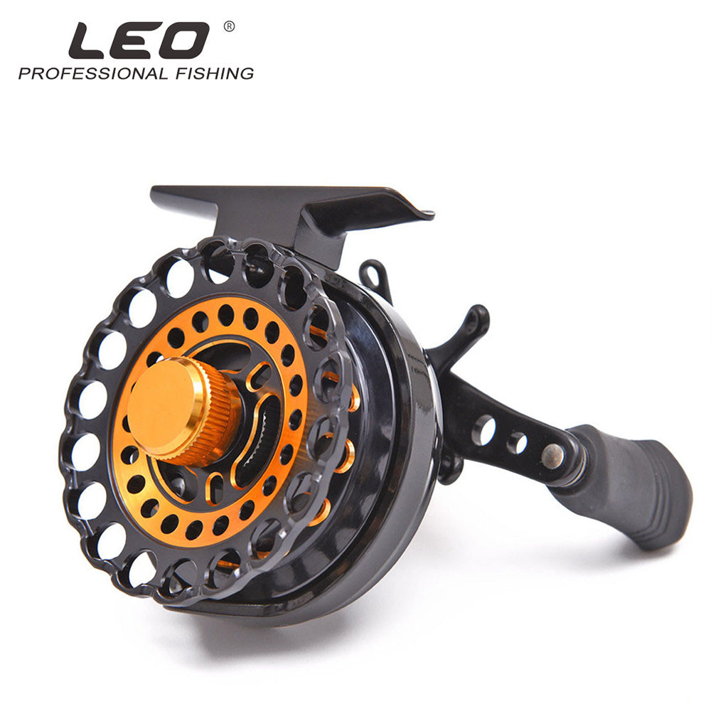 LEO Fishing Reel 6+1BB Ball Bearing Ice Fly Fishing Wheel 2.8:1 Gear Ratio Raft Right Left Hand High Speed Carp Fishing Tool