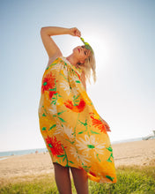 Load image into Gallery viewer, Dorothy Dress - Yellow Flowers