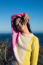 Load image into Gallery viewer, Current Pullover - Pink/Yellow