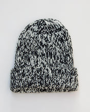 Load image into Gallery viewer, Fog Beanie - Black Marl