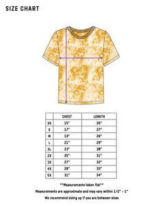 Dust Dye T-Shirt - Tumeric