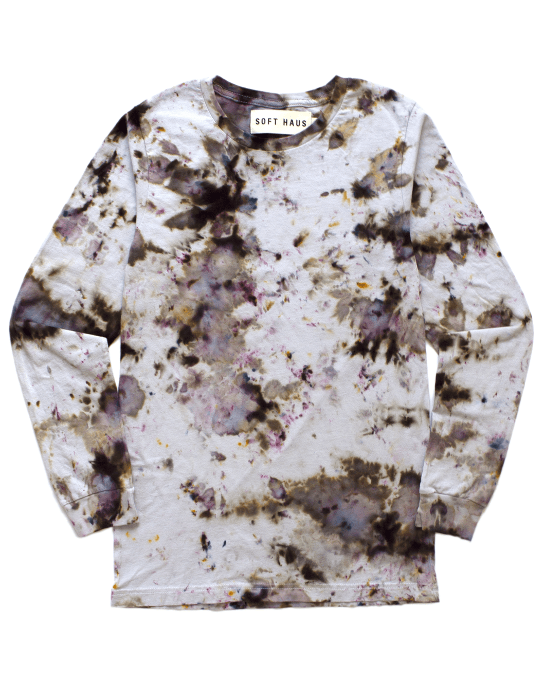 Dust Dye Long Sleeve - Gray Matter