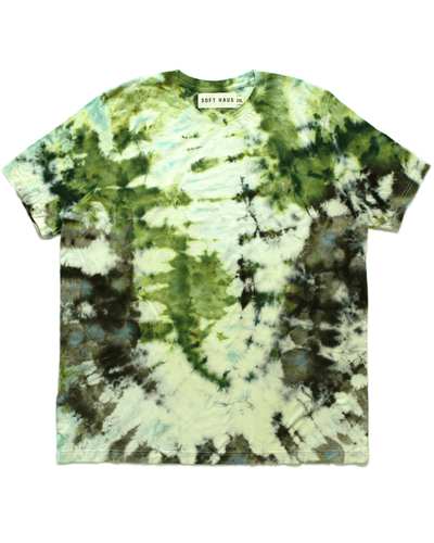 Dust Dye T-Shirt - Herbaceous Green