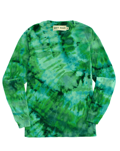 Dust Dye Long Sleeve - KELP!