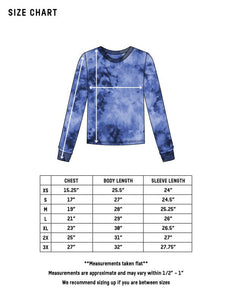 Dust Dye Long Sleeve - Spectral Black