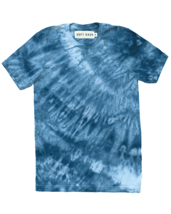 Dust Dye T-Shirt - Steely Cobalt