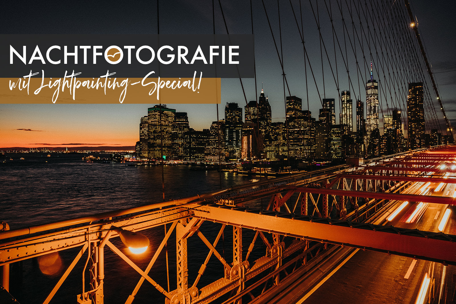 Fotoworkshop Nachtfotografie mit Lightpainting