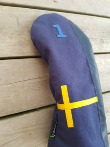 Sweden driver headcover