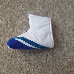 White and the blues putterheadcover
