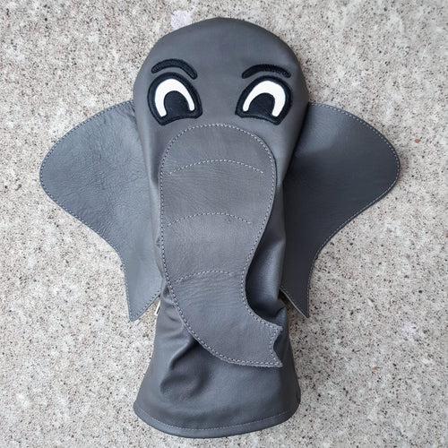 Elephant driver headcover