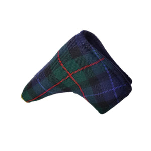 Tartan putter headcover magnetic