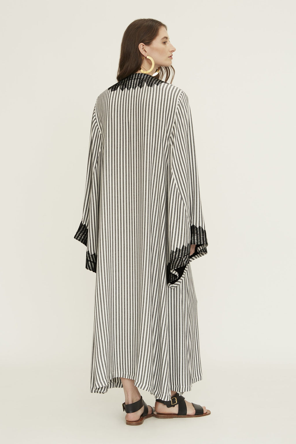 Ourika Caftan in Stripe