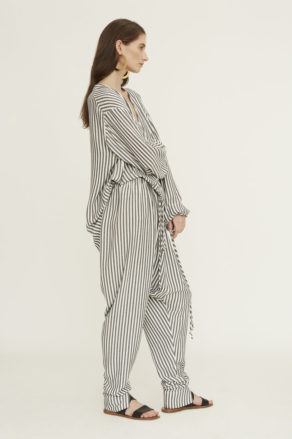 Marrakech Pant in Stripe