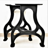 Cast Iron Table Base, Furniture Legs, Metal Legs, Steel Legs, Coffee Table Legs, Hairpin Legs, Dining Table Legs