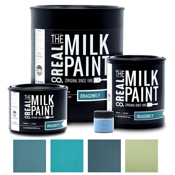 Real Milk Paint - BLUEs & GREENs