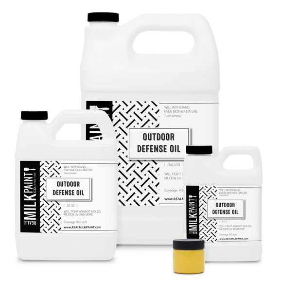 RealMilkPaint, Outdoor Defense Oil