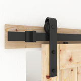 Barn Door Hardware, Sliding Door Hardware, Exposed Wheel Hardware, J Shaped Hangers, Double Door Hardware