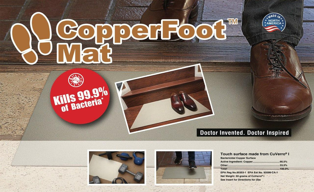 CopperFoot Mat - Copper Footmat