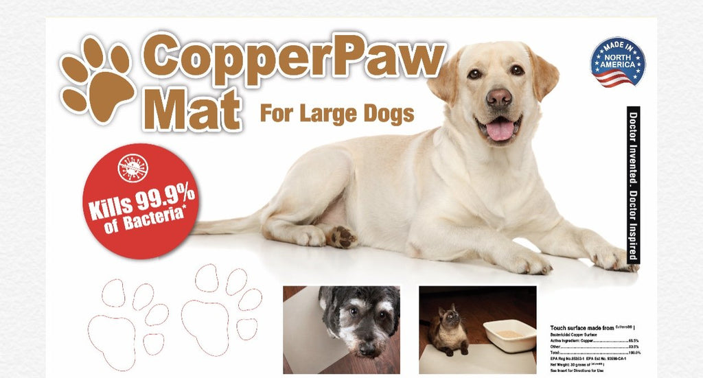 CopperPaw Mat - Copper Footmat