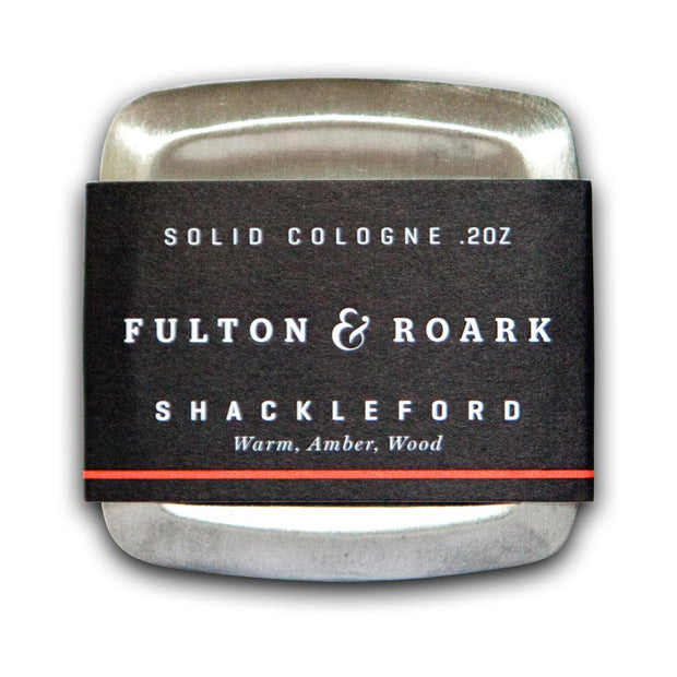 Solid cologne in Shackleford