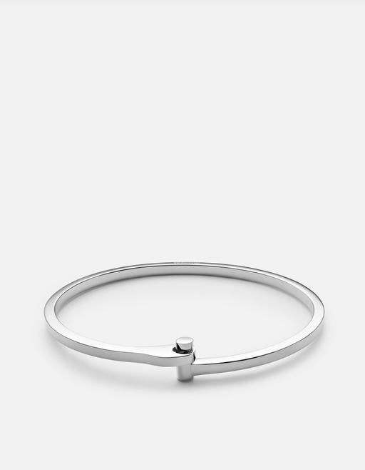 Nyx Cuff Bracelet - Sterling Silver, Polished