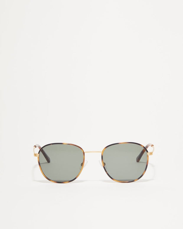 Article one brushed gold sunglasses