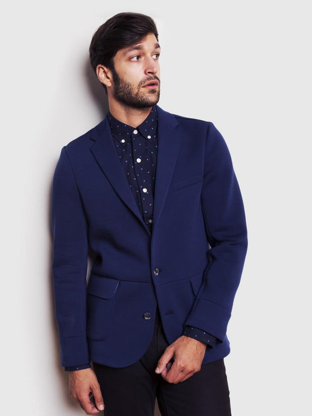 A comfortable blazer for men by Brunswick Park