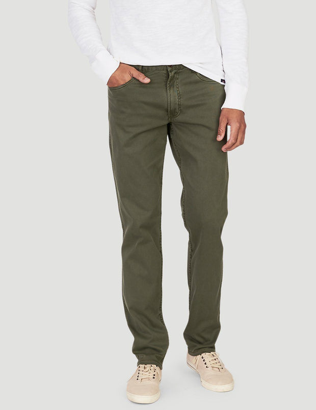 Comfort Twill 5-Pocket Pant