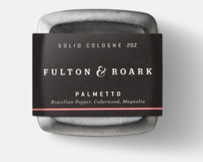 Palmetto solid cologne by Fulton & Roark