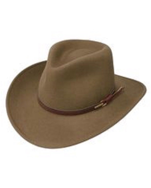 Brown Stetson Bozeman hats available at our men's store in Madison, Wisconsin.