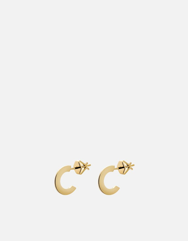 Gold earrings for women. See them in store in Middleton, Wisconsin.