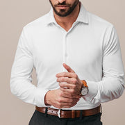 White dress shirt for men by Mizzen + Main