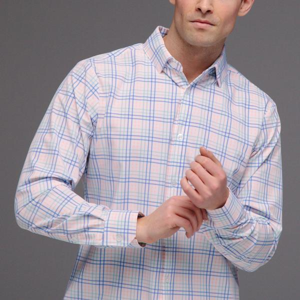 Comfortable dress shirt in Mizzen and Main in Newton