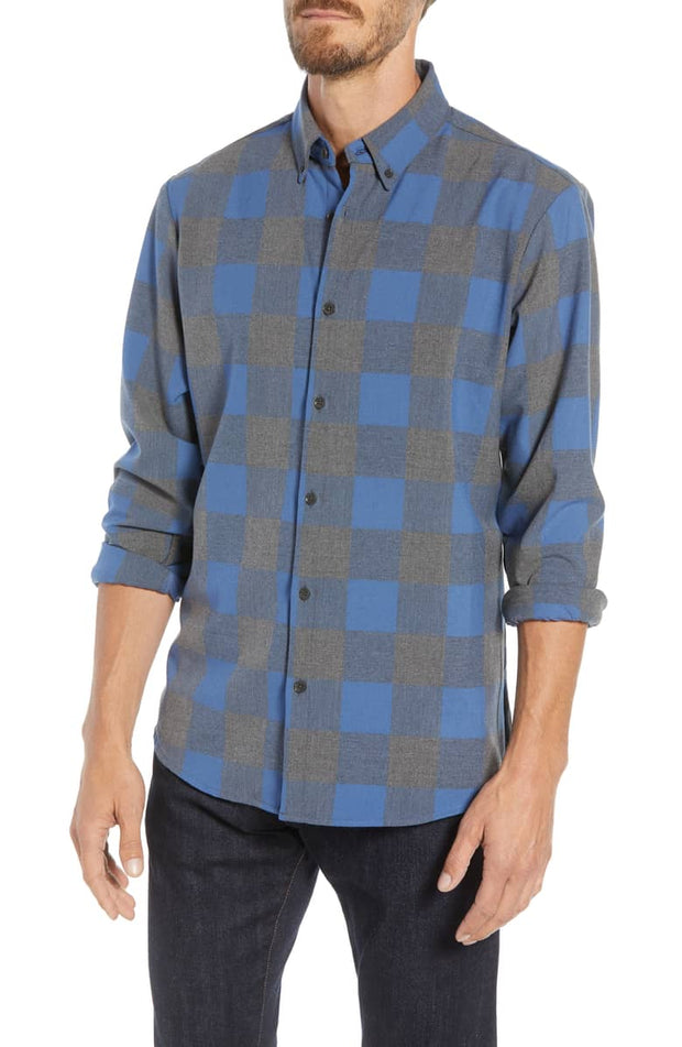 Mizzen + Main comfortable dress shirt