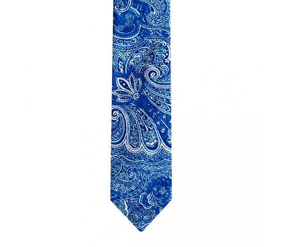 the pocket square clothing company atifa blue tie