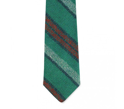 Pocket square clothing company dolman slim green tie