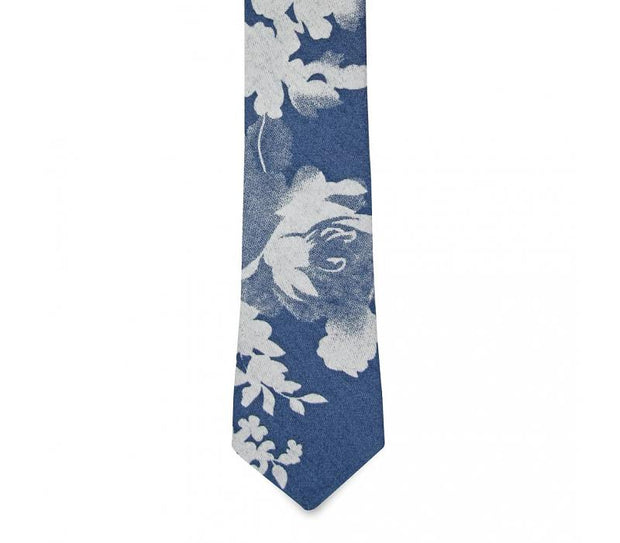 The Florian (Light) Floral Tie