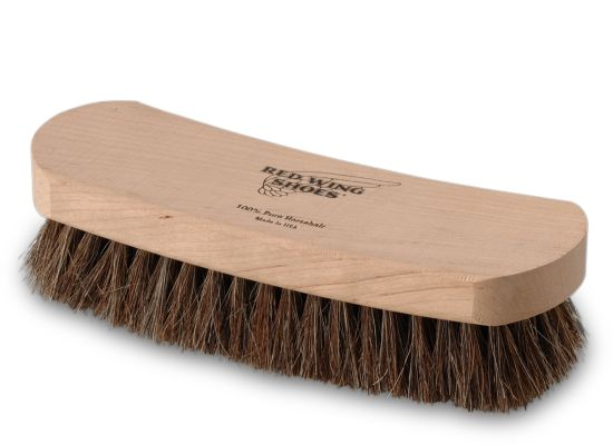 Red wing brands horse hair shoe brush