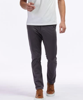 rhone commuter slim pant iron