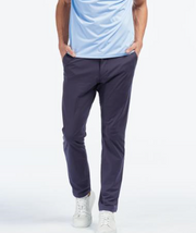 rhone commuter slim pant navy
